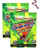 R.B.T.Z Safe Highly Effective Roach Killer Bait Powder Indoor (2 Pcs)