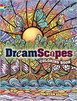 DreamScapes Coloring Book Dover Coloring Books Miryam