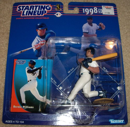 1998 Bernie Williams MLB Starting Lineup Figure - 1