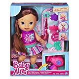 Baby Alive Play 'n Style Christina Doll (Brunette)
