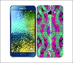 Galaxy Printed 1683 CHAMELEON SKIN PATTERNS Hard Cover for samsung E5