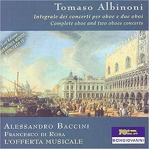 """Tomaso Albinoni, Riccardo Parravicini, Orchestra da Camera """"L'Offerta"""
