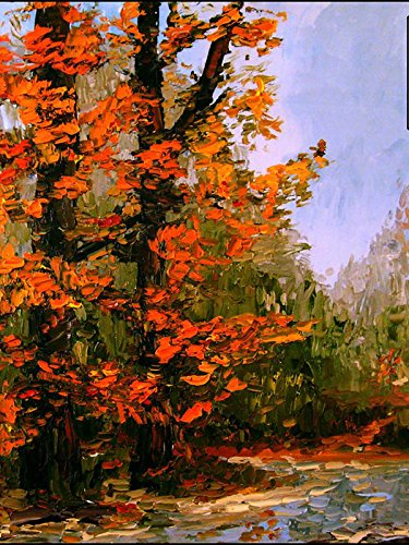 Amazon Com Landscape Oil Painting 101 Paint Autumn