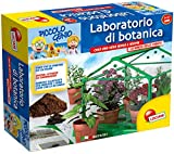 Lisciani 46379 juguete y kit de ciencia para niños - juguetes y kits de ciencia para niños (Experiment kit, Chica, Verde, Greenhouse to be built - Vases - Semi - Tools to cultivate - Scissors - Peat, EN71)