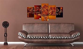 n impression sur toile 200x100 cm cm grand format 5 parties image sur toile. Black Bedroom Furniture Sets. Home Design Ideas