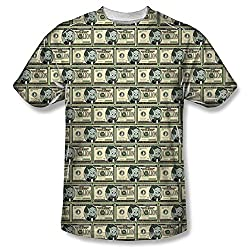Richie Rich Millions All Over Print Front T-Shirt