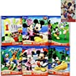 Ultimate Disney Jr. Mickey Mouse Clubhouse Holiday Puzzle Gift Set for Kids - 6 (24-Piece) Mickey Mouse Clubhouse Puzzles (10.3 in x 9.12 in) Featuring Mickey Mouse, Minnie, Goofy, Pluto and Donald Duck Plus Mickey and Friends Sticker Pad