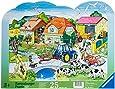 Ravensburger 06474 - Moderner Bauernhof - 25 Teile Rahmenpuzzle
