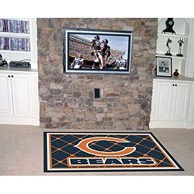 Fanmats Chicago Bears 4x6 Rug