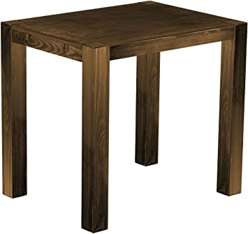 'RIO Kanto' Brasil High Table 120 x 90 x 109 cm, Bonito Pine – Solid Wood – Antique Oak