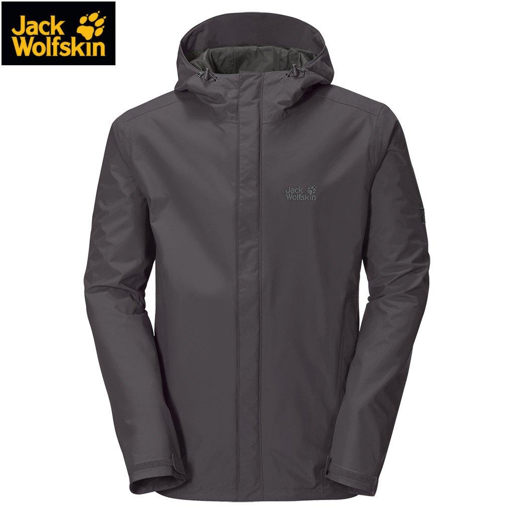 Jack Wolfskin LACONIC TEXAPORE JACKET MEN – Jacke Herren [dark steel] günstig kaufen