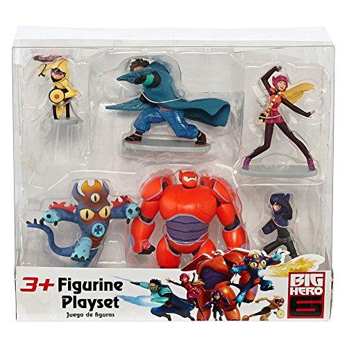 Disney Big Hero 6 Figure Set Baymax, Yokai, Wasabi No-Ginger, Fred, Honey Lemon & Go Go Tomago (Big Hero 6 Yokai compare prices)