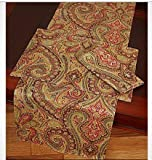 Lauren Ralph Lauren Table Runner -Fenton Paisley Rust
