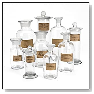 Two's Company Botany Apothecary Jar Set