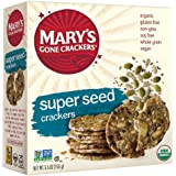 Mary's Gone Crackers Original Super Seed Crackers, 5.5 Ounce