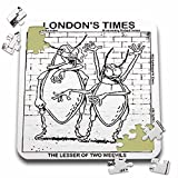 Londons Times Funny Society Cartoons - Lesser Of Two Weevils - 10x10 Inch Puzzle (pzl_1791_2)