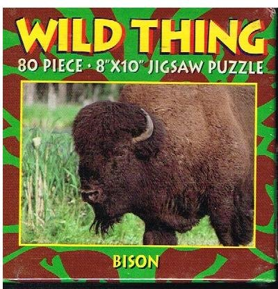 Wild Thing 80 Piece Jigsaw Puzzle of Bison