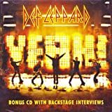 Def Leppard Yeah! Bonus CD With Backstage Interviews