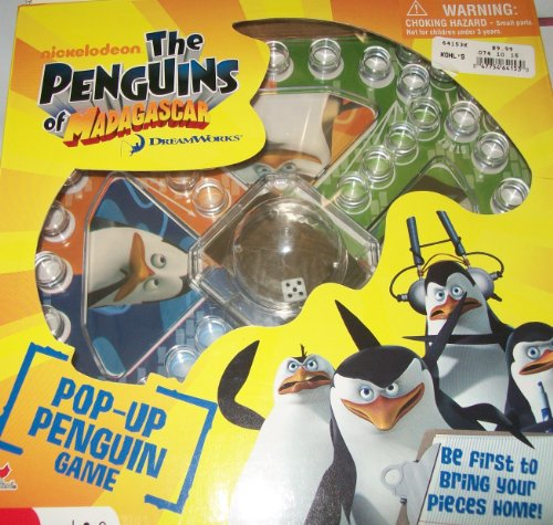 Click To nickelodeon THE PENGUINS OF MADAGACAR POP UP PENGUIN GAME Details