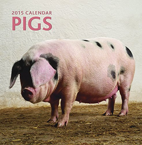 2015 Calendar: Pigs: 12-Month Calendar Featuring Wonderful Photography And Space In Write In Key Events