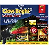 Creative Concepts 02028 Glow Bright Laser Light Show with Remote, Tripod, & Stake