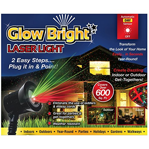 Creative Concepts 02028 Glow Bright Laser Light Show with Remote, Tripod, & Stake (Remote Laser compare prices)