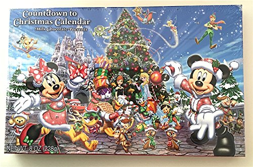 Mickey Mouse Walt Disney Parks Countdown to Christmas Advent ...