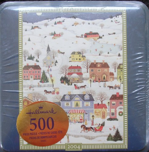 Hallmark Christmastime Holiday 2004 500-pc Puzzle by Hasbro