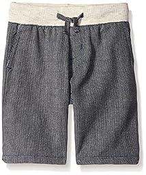 American Hawk Little Boys Comfortable Pull On Short, Grey, 3T