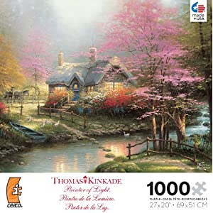 Thomas Kinkade Peaceful Moments Puzzle