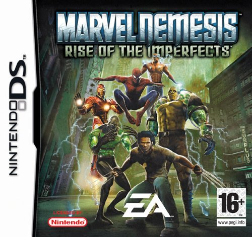 Marvel Nemesis: Rise Of The Imperfects  (Nintendo DS)