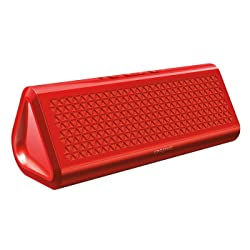 Creative Airwave HD Portable Bluetooth Wireless Speaker with NFC (Red)