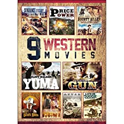 9-Movie Western Pack V.1