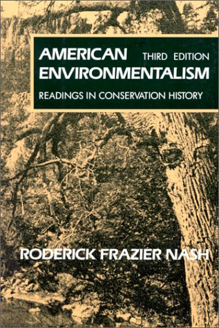American Environmentalism: Readings In Conservation History PDF