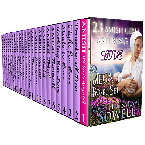 Ultra Colossal AMISH ROMANCE; 23 Amish Girls Aspiring Love; 23 Books Boxed Set (BONUS included); (Sweet Clean Christian Inspirational Historical Romance)