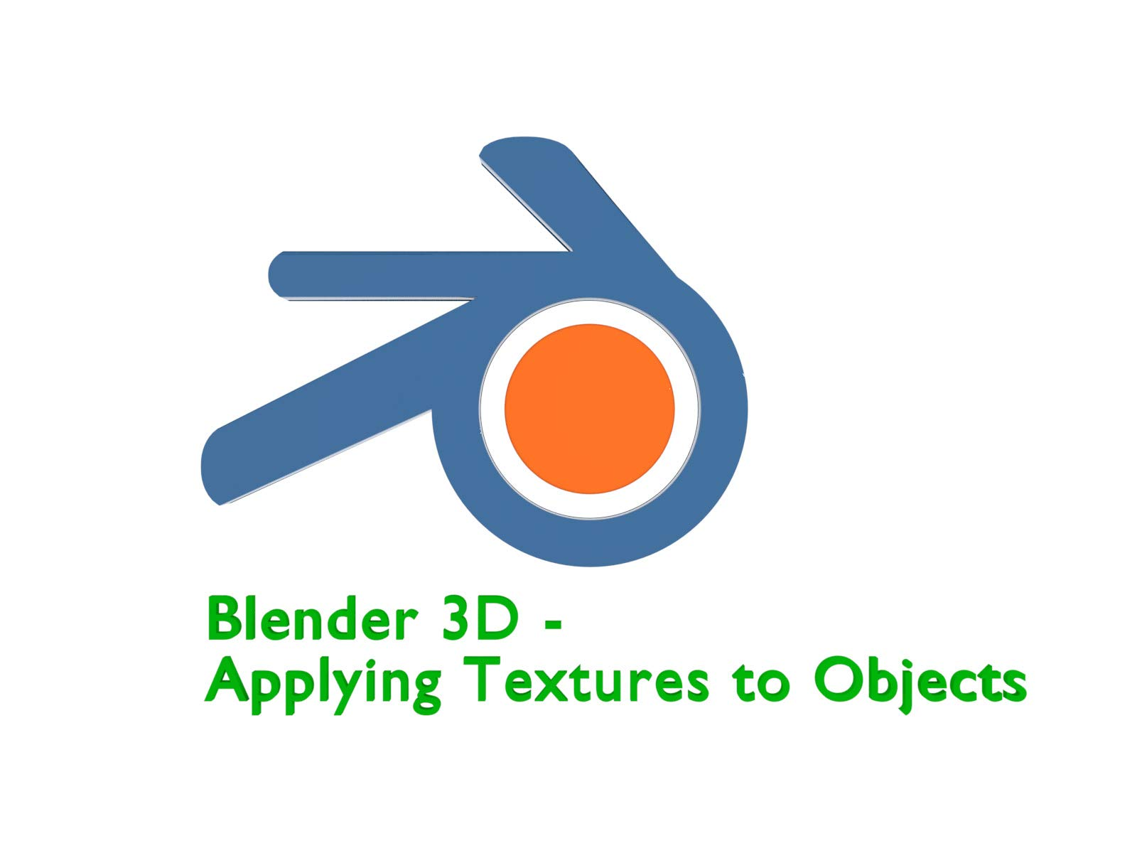Blender 3D - Applying Textures To Objects - Season 1