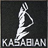 KASABIAN Heavy Metal Rock Punk Music Band Logo Polo T shirt Patch Sew Iron on Embroidered Badge Sign Costum