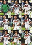FIFA World Cup 2014 Brazil Adrenalyn XL Germany (Deutschland) Base Card Team Set