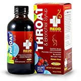 Redd Remedies Throat & Bronchial Syrup - Soothes Irritated Throat - Reduces...
