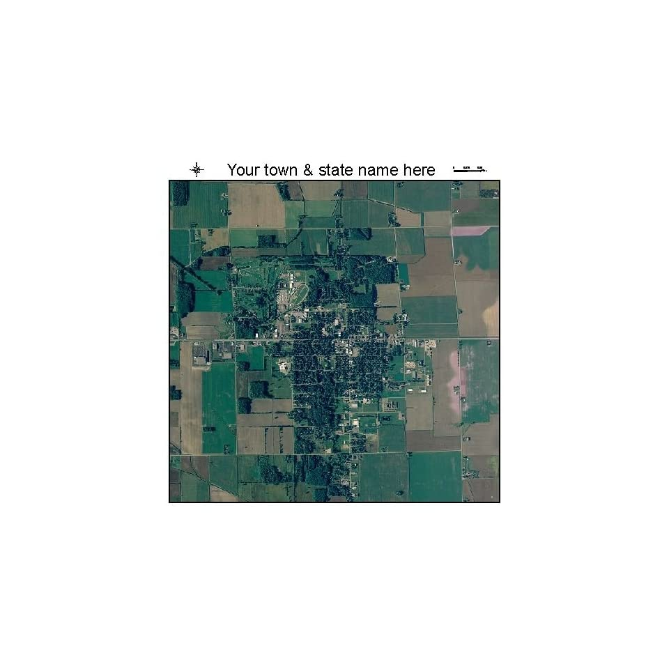 36 Aerial Photography Map Of Sandusky Michigan 2012 Mi On Popscreen