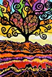 Tree Of Love by Jenny Hahn Poster Art Print - 24 inch x 36 inch