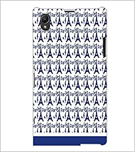 SONY XPERIA Z1 PATTERN Designer Back Cover Case By PRINTSWAG