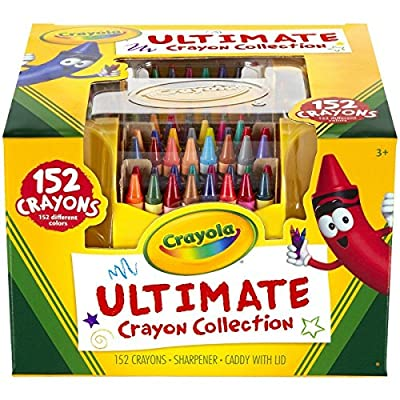 Crayola Ultimate Crayon Case 152-Crayons New