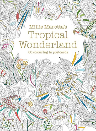 Millie Marotta's Tropical Wonderland Postcard Box (Postcards)