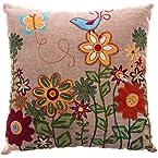 12x12 Floral Throw Pillow