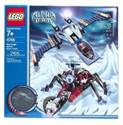 Lego Stories & Themes Alpha Team- Blue Eagle vs. Snow Crawler (4745)