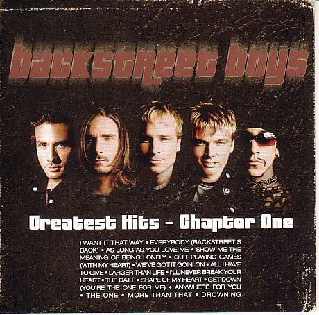 Backstreet Boys - Greatest Hits: Chapter 1 - Zortam Music