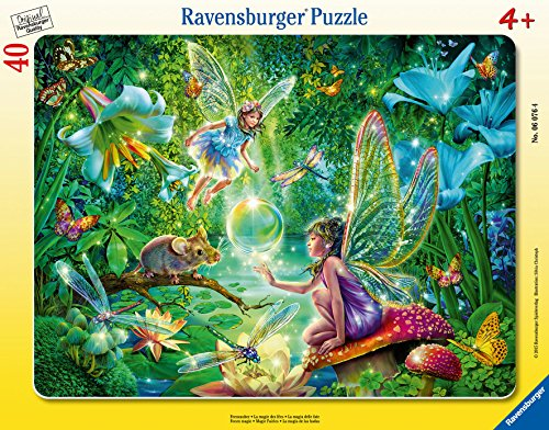 Ravensburger Fairy Magic Frame Puzzle (40-Piece) - 1