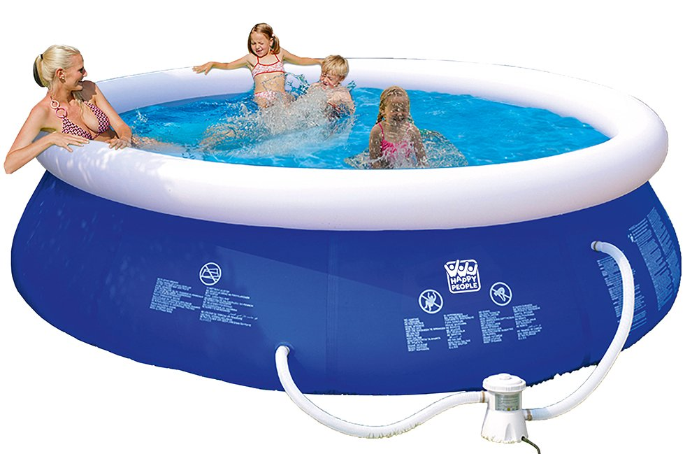 Happy People 77772 Quick Up Pool, blau günstig kaufen