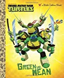 img - for Green vs. Mean (Teenage Mutant Ninja Turtles) (Little Golden Book) book / textbook / text book